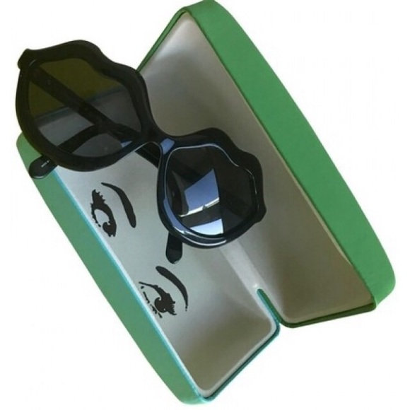 f83c3ba52f47 kate spade Accessories | Oversized Seanna Sunglasses Lip Shaped ...